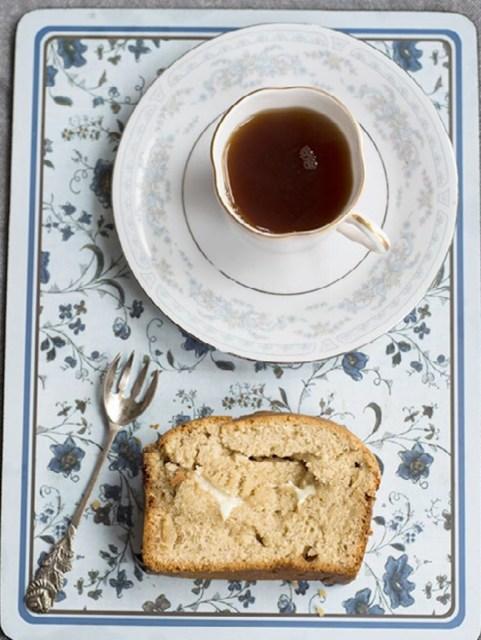 White Chocolate Tea Bread