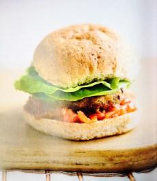 Carrot, Cumin & Kidney Bean Burgers, 9p [A Girl Called Jack]