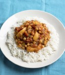 Peach & Chickpea Curry, 61p