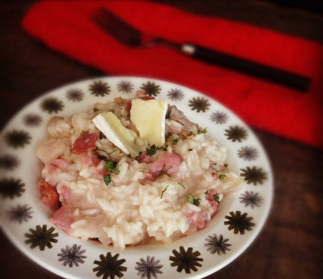 Brie & Bacon Risotto, 26p