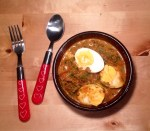 CURRIED EGGS.