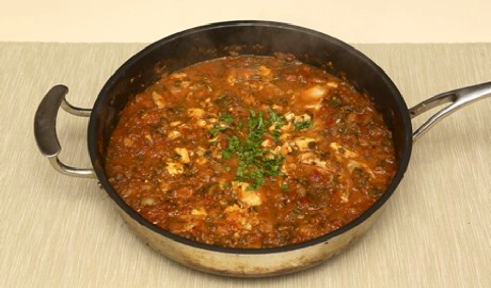 Fish tagine cooking on a bootstrap for Jack fish recipe