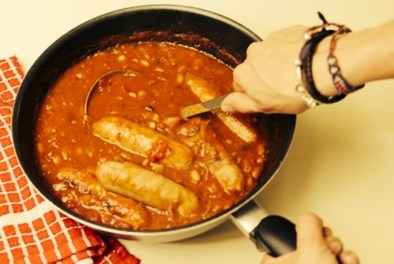 Jack Monroe's sausage casserole recipe, The Guardian.