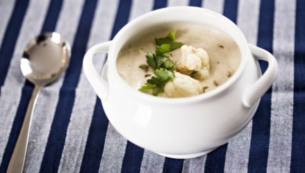CAULI, FENNEL & GARLIC SOUP
