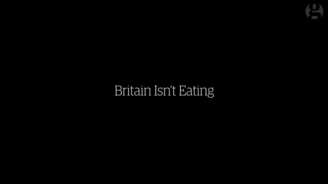 Britain Isn't Eating.