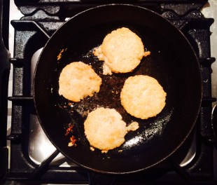 Leftover-Porridge Pancakes
