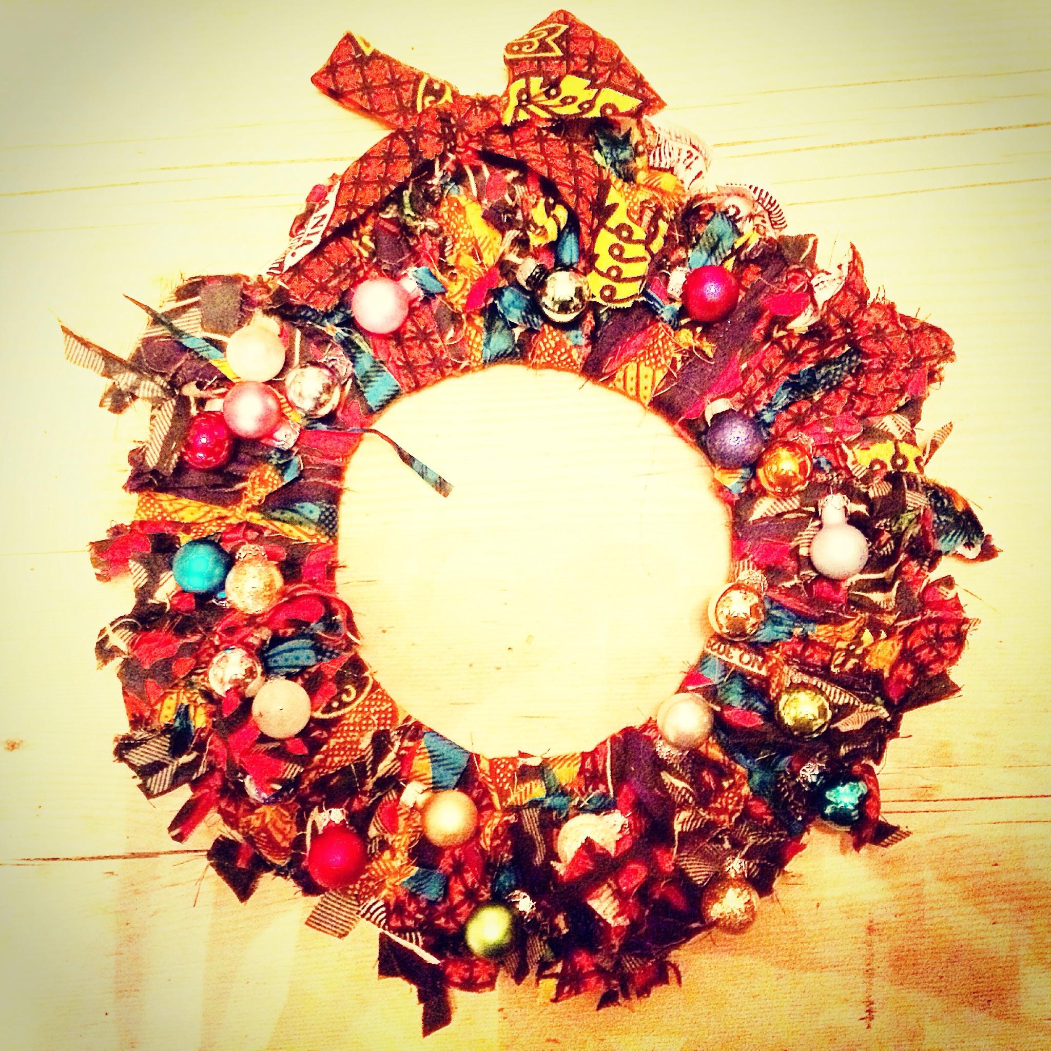 Have yourself a cheaper little christmas i made a wreath img5231g solutioingenieria Choice Image