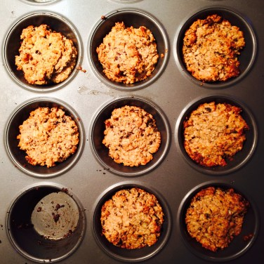 Peanut Butter & Banana Superpower Muffins, 10p (VEGAN)