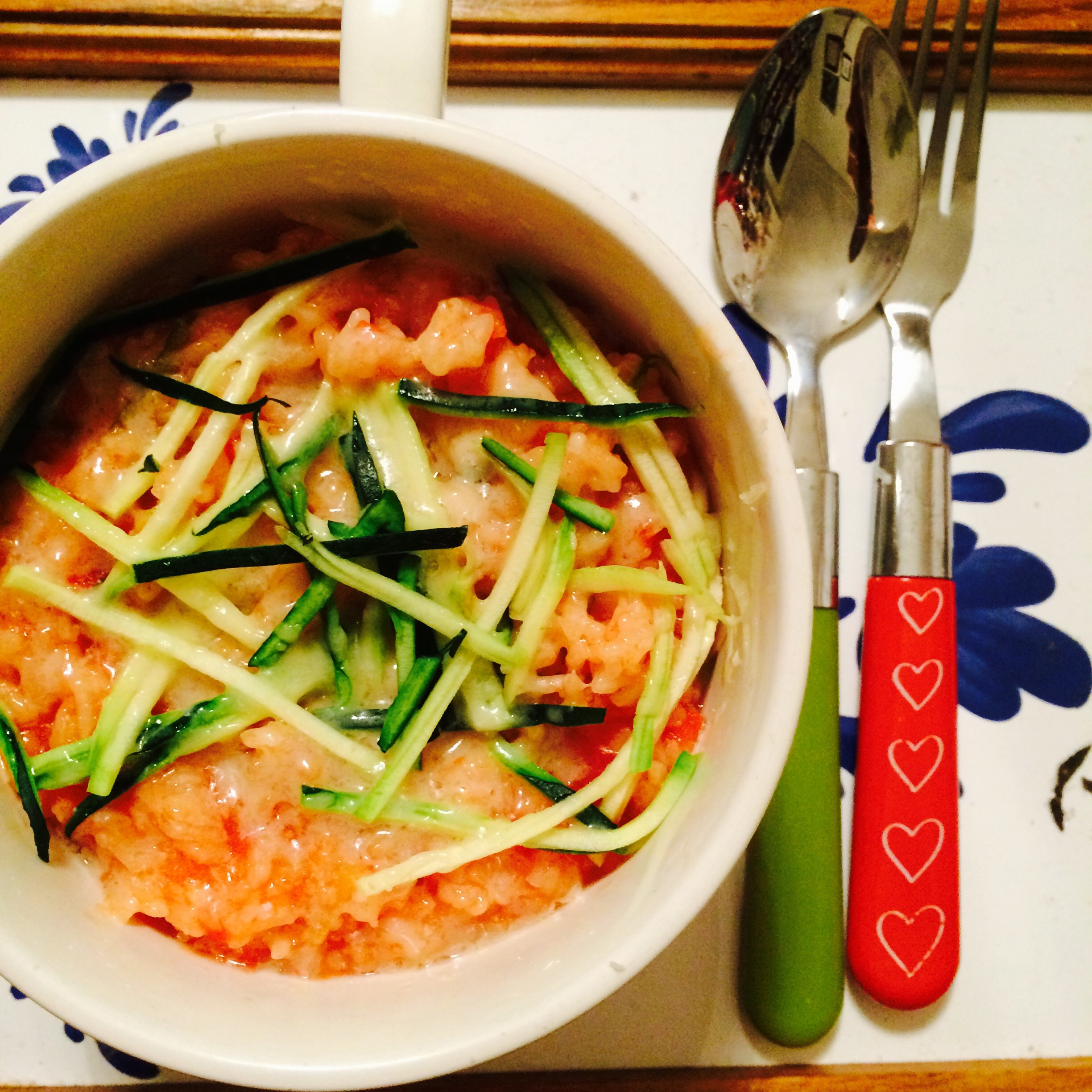 Courgette, Tomato & Cheese Gratin recipe by Jack Monroe