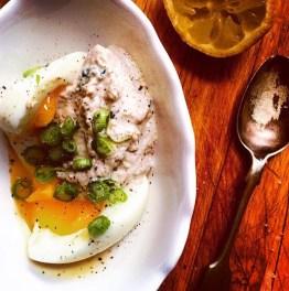 Creamed herring roe (like a taramasalata), 38p