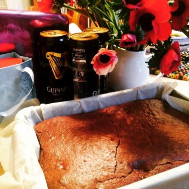 Double Chocolate Guinness Birthday Brownies, 15p