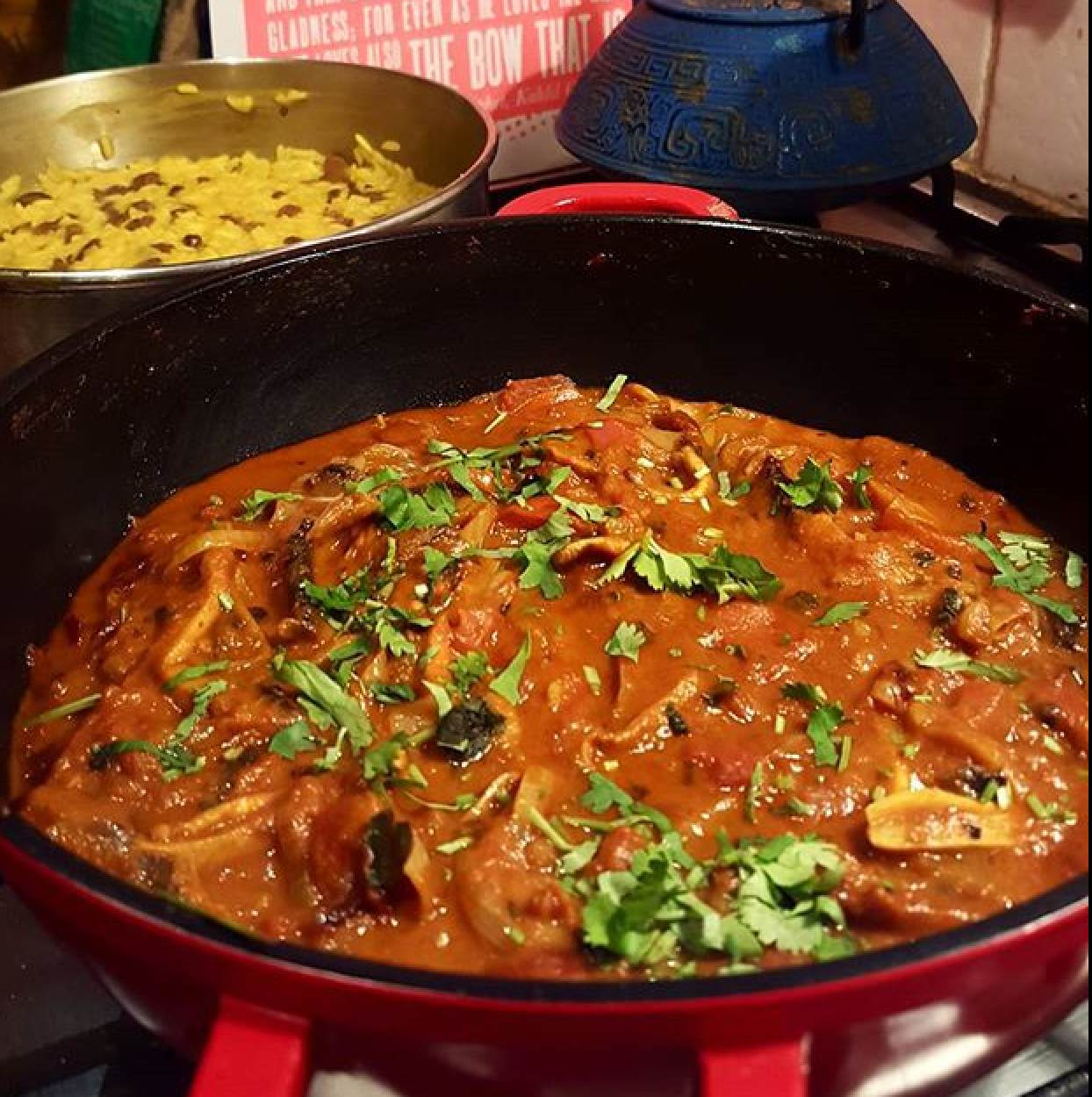 Mushroom Rogan Josh recipe by Jack Monroe