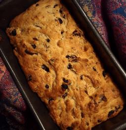 Applesauce bread-cake (VG/V/DF), 9p