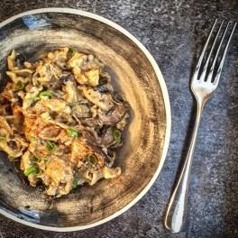 Mushroom Mac 'n' Cheese, 42p [from 'Veganish']