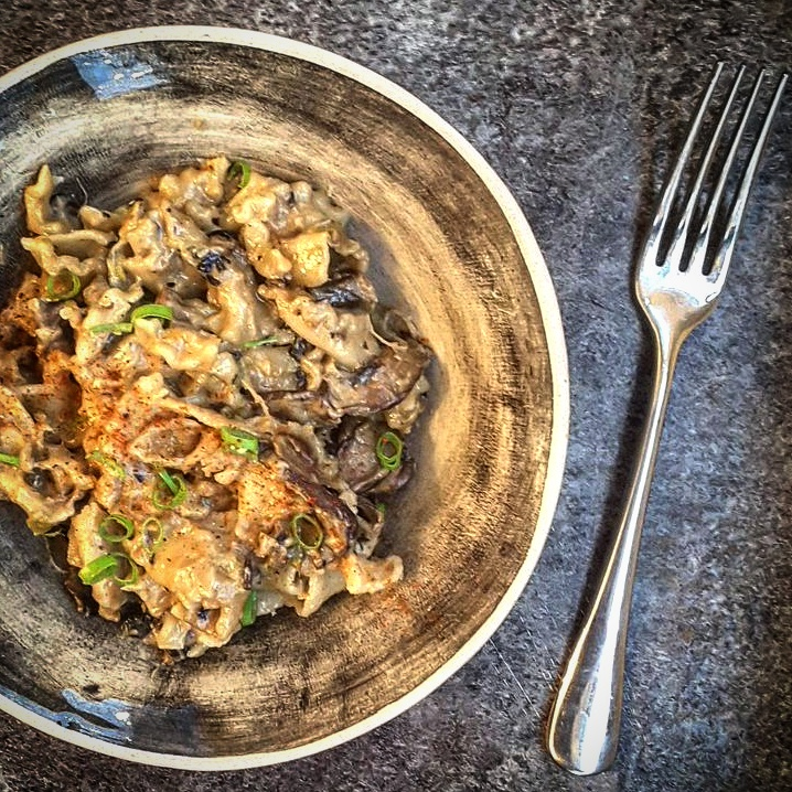 Mushroom Mac 'n' Cheese recipe by Jack Monroe