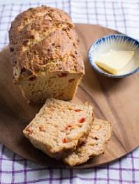 Chickpea & Tomato Brunch Loaf, 17p
