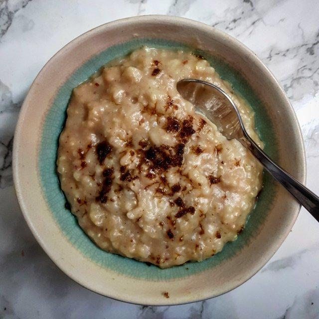 Peanut Milk Rice Pudding, 16p (slow cooker)