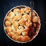 Mushroom, Lentil & Ale Pie, 37p