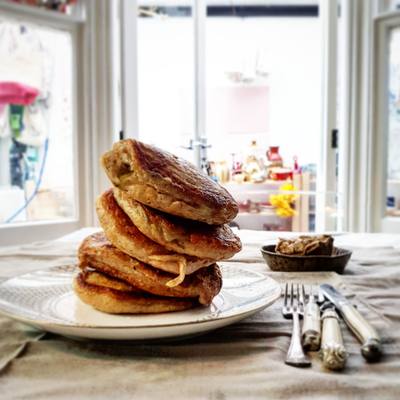 Applesauce Pancakes recipe by Jack Monroe