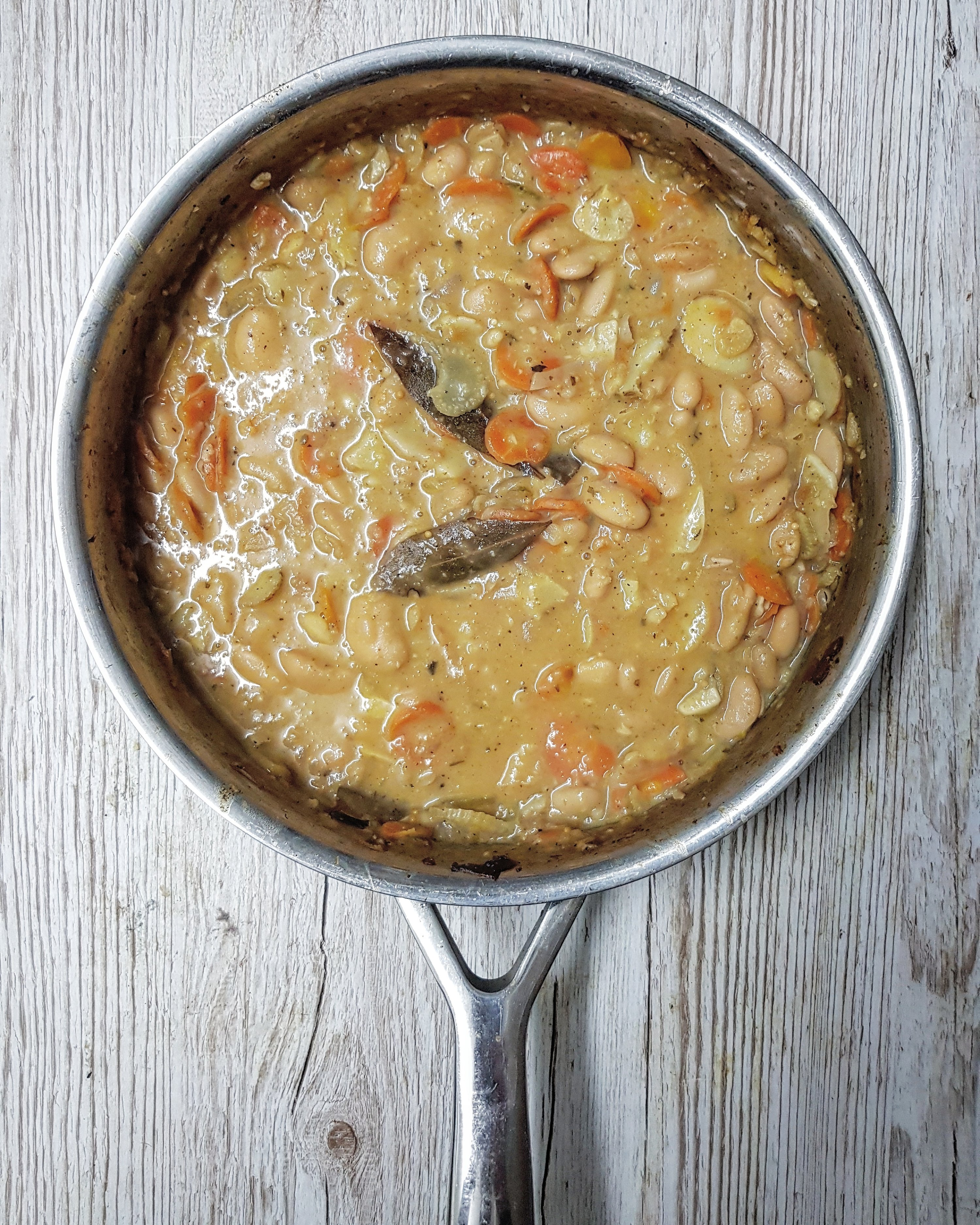Butter Bean & Cider Cassoulet recipe by Jack Monroe