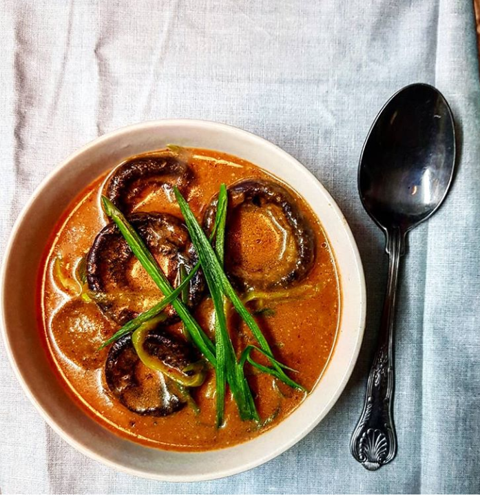 Red Mushroom Curry recipe by Jack Monroe