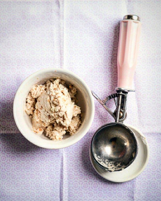 Peanut Butter Frozen Yoghurt recipe by Jack Monroe